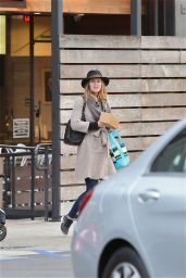 Leighton Meester at Mendocino Restaurant in Santa Monica 1/21/ 2017