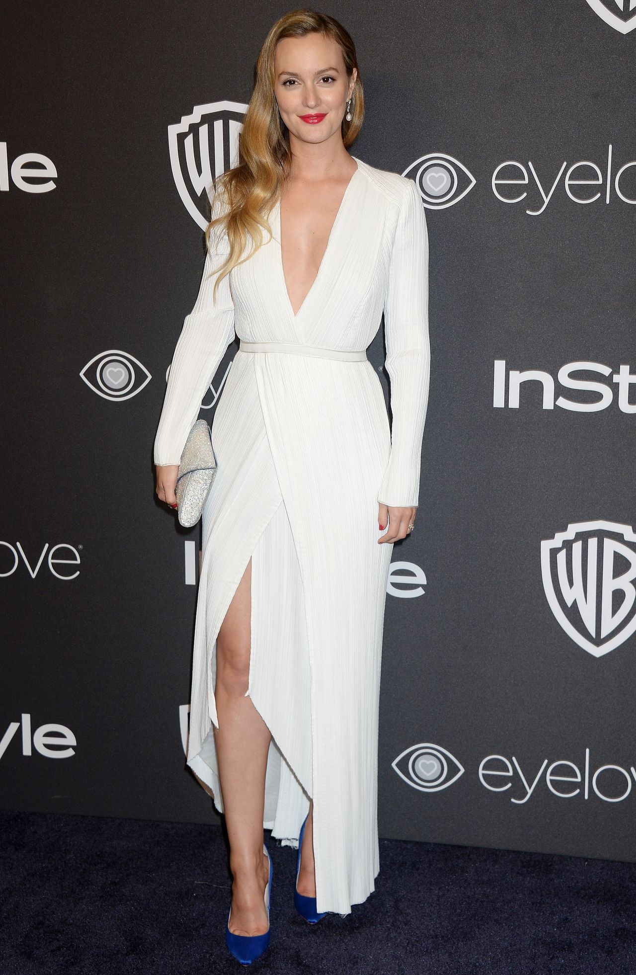 Leighton Meester – InStyle and Warner Bros Golden Globes ...