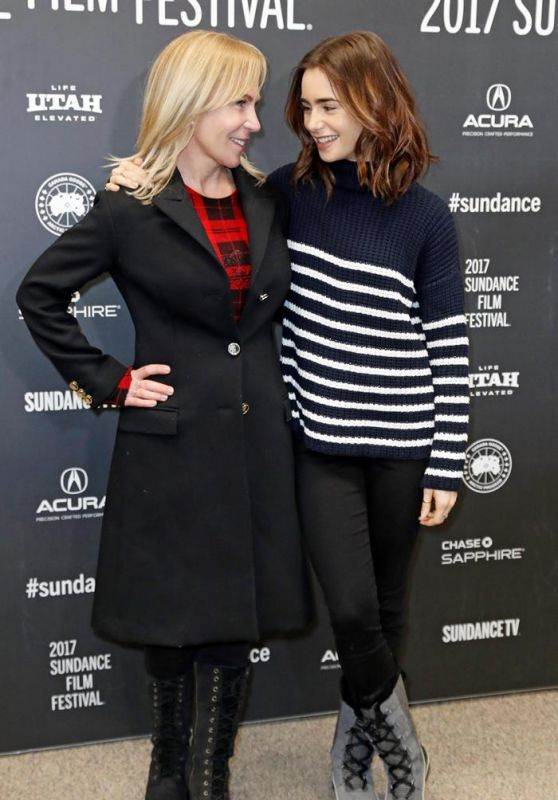 Liana Liberato & Lily Collins - 'To the Bone' Premiere at the 2017 Sundance Film Festival