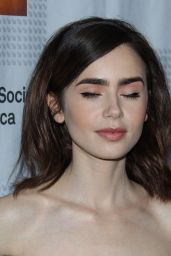 Lily Collins - Artios Awards in Los Angeles 1/19/ 2017