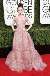 Lily Collins – Golden Globe Awards in Beverly Hills 01/08/ 2017