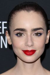 Lily Collins - Haiti Rising Gala in Los Angeles 1/7/ 2017