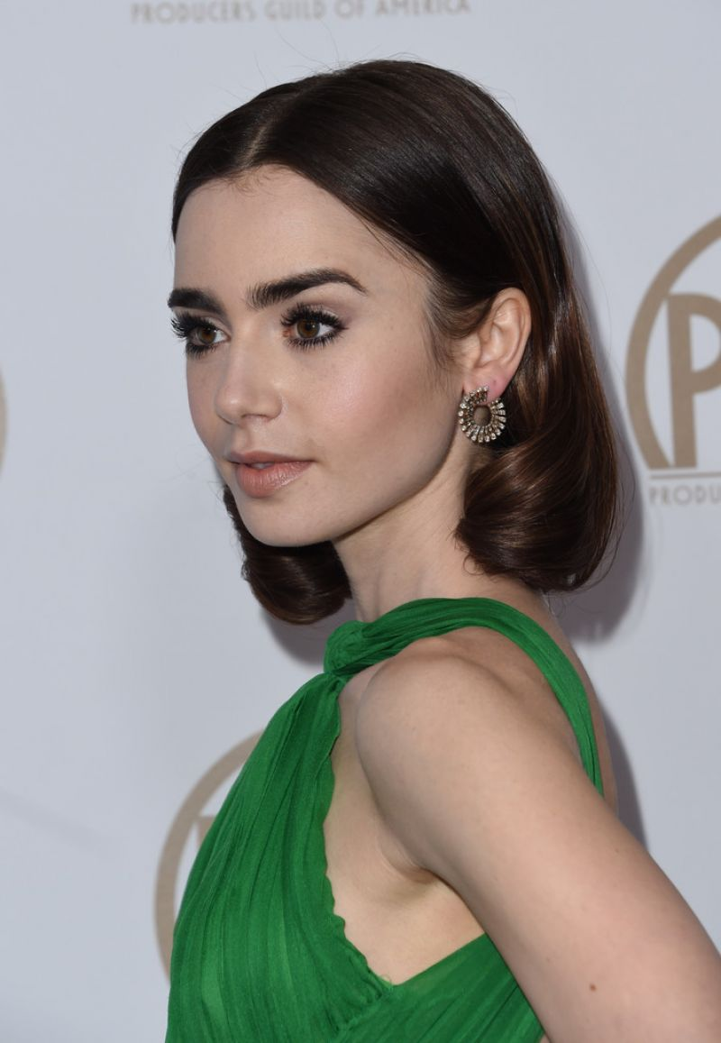 Lily Collins Producers Guild Awards In Beverly Hills 1 28