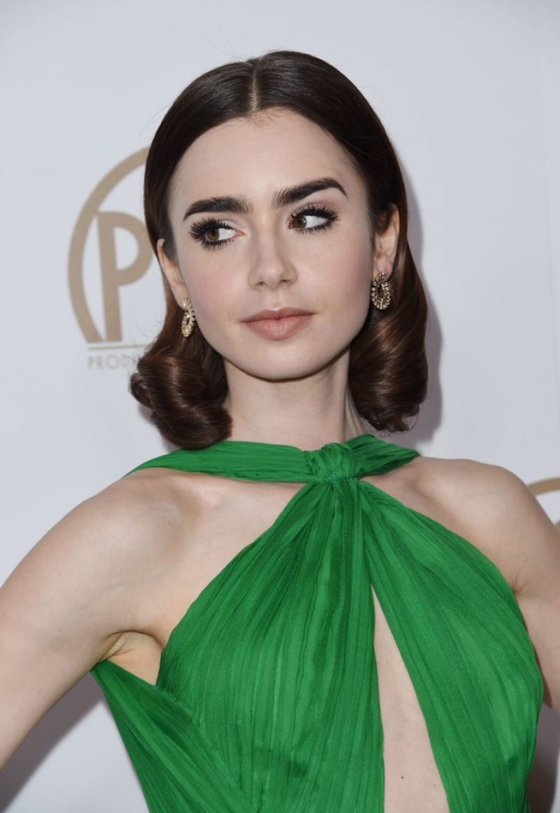 Lily Collins -Producer...