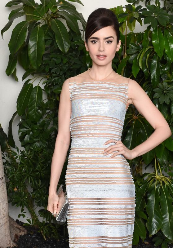 Lily Collins – W Magazine Celebrates Best Performances Portfolio & Golden Globes With Audi 1/5/ 2017