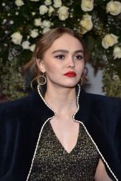 Lily-Rose Depp - Sidaction Gala Dinner in Paris 1/26/ 2017
