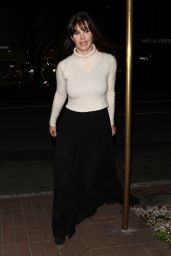 Lucila Sola - Dines Out at Madeo Restaurant in West Hollywood 1/13/ 2017