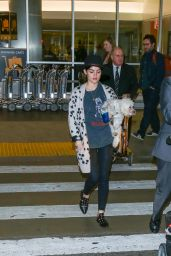 Lucy Hale at LAX in Los Angeles 1/1/ 2017