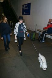 Lucy Hale at Los Angeles International Airport 1/1/ 2017
