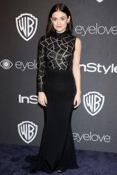Lucy Hale – InStyle and Warner Bros Golden Globes After Party 1/8/ 2017