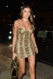 Madison Beer Night Out Style - Catch Restaurant in Los Angeles 1/14/ 2017