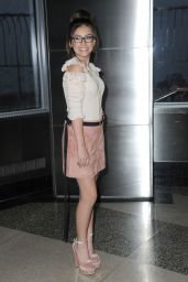 Madisyn Shipman - Visits the Empire State Building in NY 1/24/ 2017