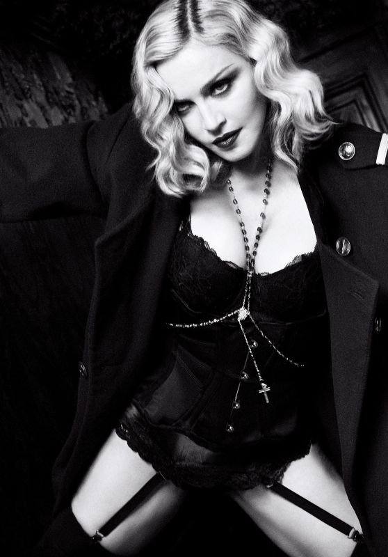 Madonna - Photoshoot for Harper