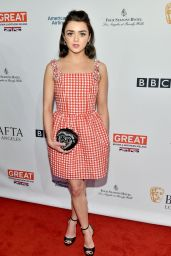 Maisie Williams – BAFTA Tea Party in Los Angeles 1/7/ 2017