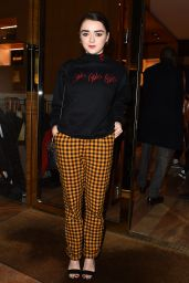 Maisie Williams - Louis Vuitton MakeAPromise Day in London 1/12/ 2017