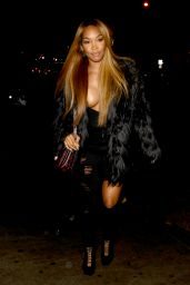 Malika Haqq - Arriving at Peppermint in West Hollywood 1/10/ 2017