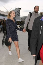 Margot Robbie at LAX Airport in Los Angeles 1/1/ 2017