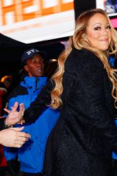 Mariah Carey at Times Square in NYC 12/31/ 2016