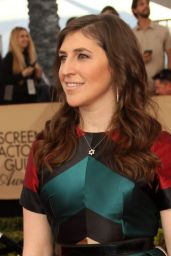 Mayim Bialik – SAG Awards in Los Angeles 1/29/ 2017