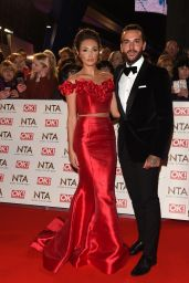 Megan McKenna – National Television Awards in London 1/25/ 2017