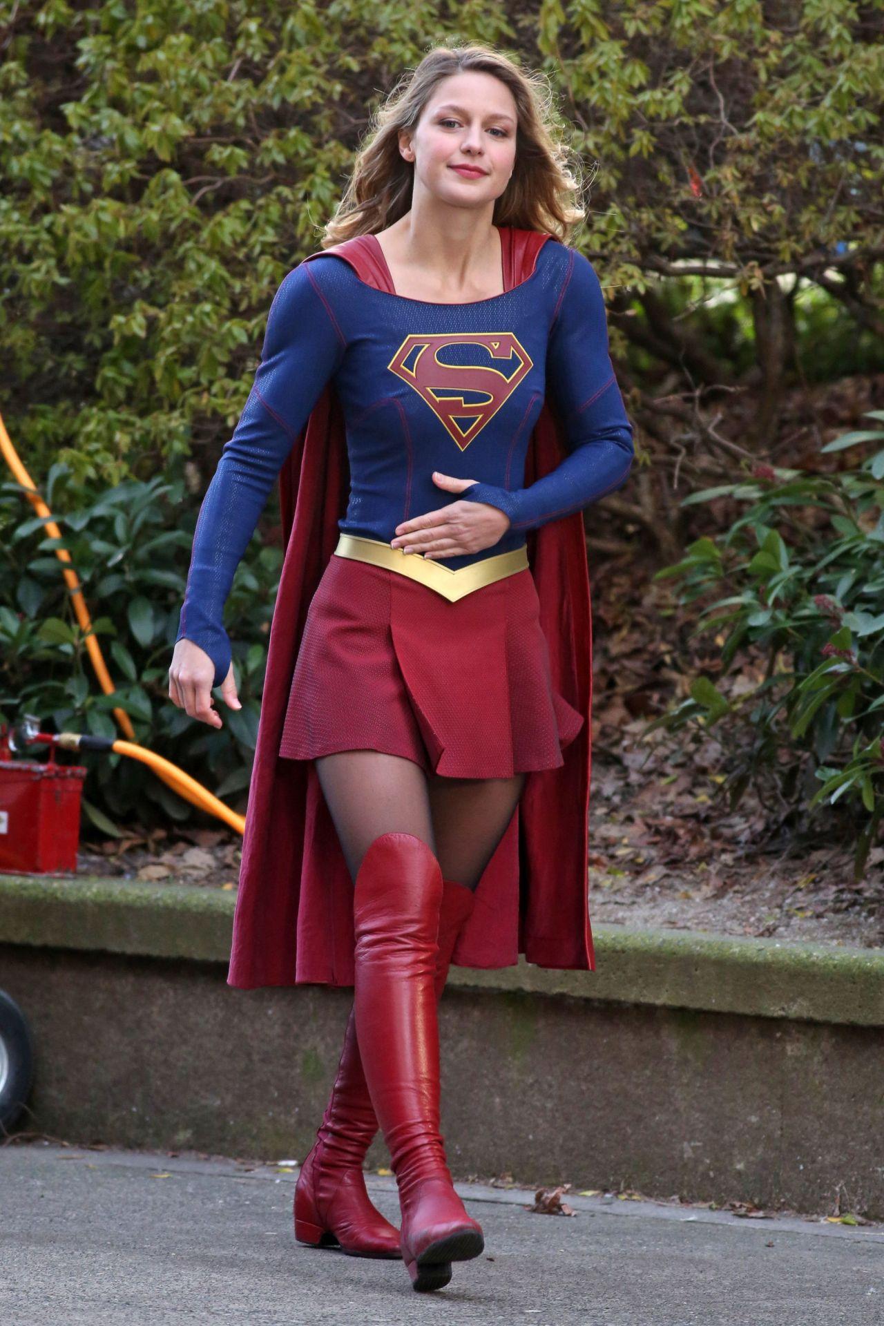 Melissa benoist supergirl porn