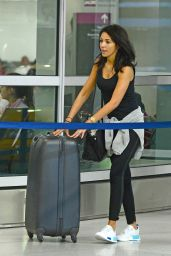 Michelle Keegan - Arriving at Miami Airport 1/13/ 2017