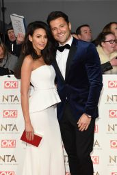 Michelle Keegan - National Television Awards in London 1/25/ 2017