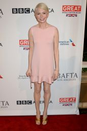 Michelle Williams – BAFTA Tea Party in Los Angeles 1/7/ 2017
