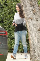 Mila Kunis - Out in Studio City 1/4/ 2017