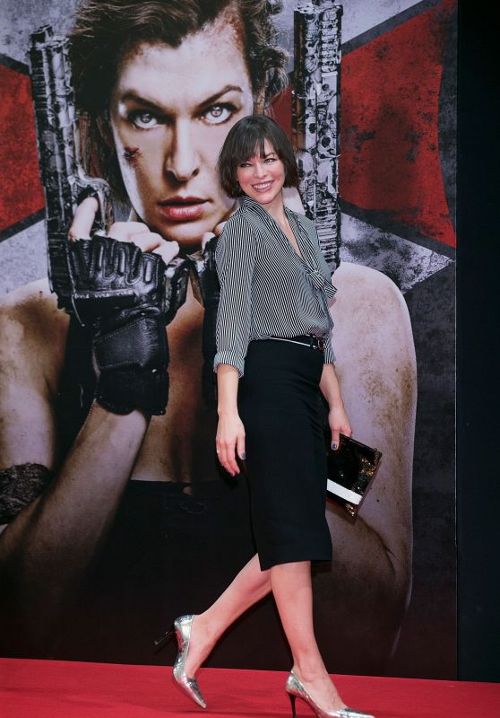 Milla Jovovich - Resident Evil: The Final Chapter Press Conference in Seoul 1/13/ 2017