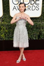 Millie Bobby Brown – Golden Globe Awards in Beverly Hills 01/08/ 2017