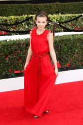 Millie Bobby Brown – SAG Awards in Los Angeles 1/29/ 2017