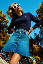 Miranda Kerr - Mother Denim Campaign 2017