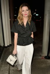 Mischa Barton at Catch in West Hollywood 1/12/ 2017
