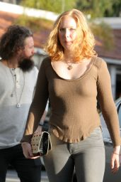 Molly Quinn - Running Errands With Her Boyfriend, TV producer Elan Gale, in Los Angeles 1/13/ 2017