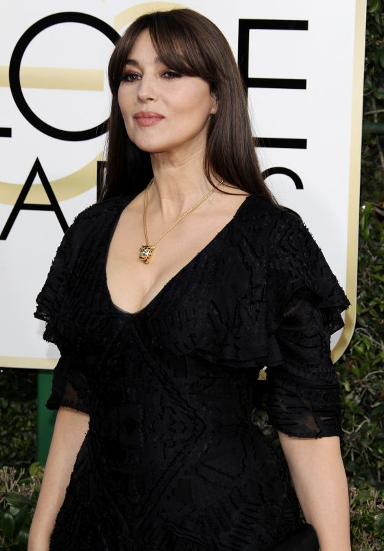 Monica Bellucci – Golden Globe Awards in Beverly Hills 01/08/ 2017