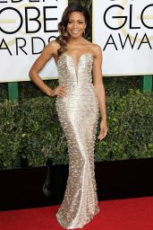Naomie Harris – Golden Globe Awards in Beverly Hills 01/08/ 2017