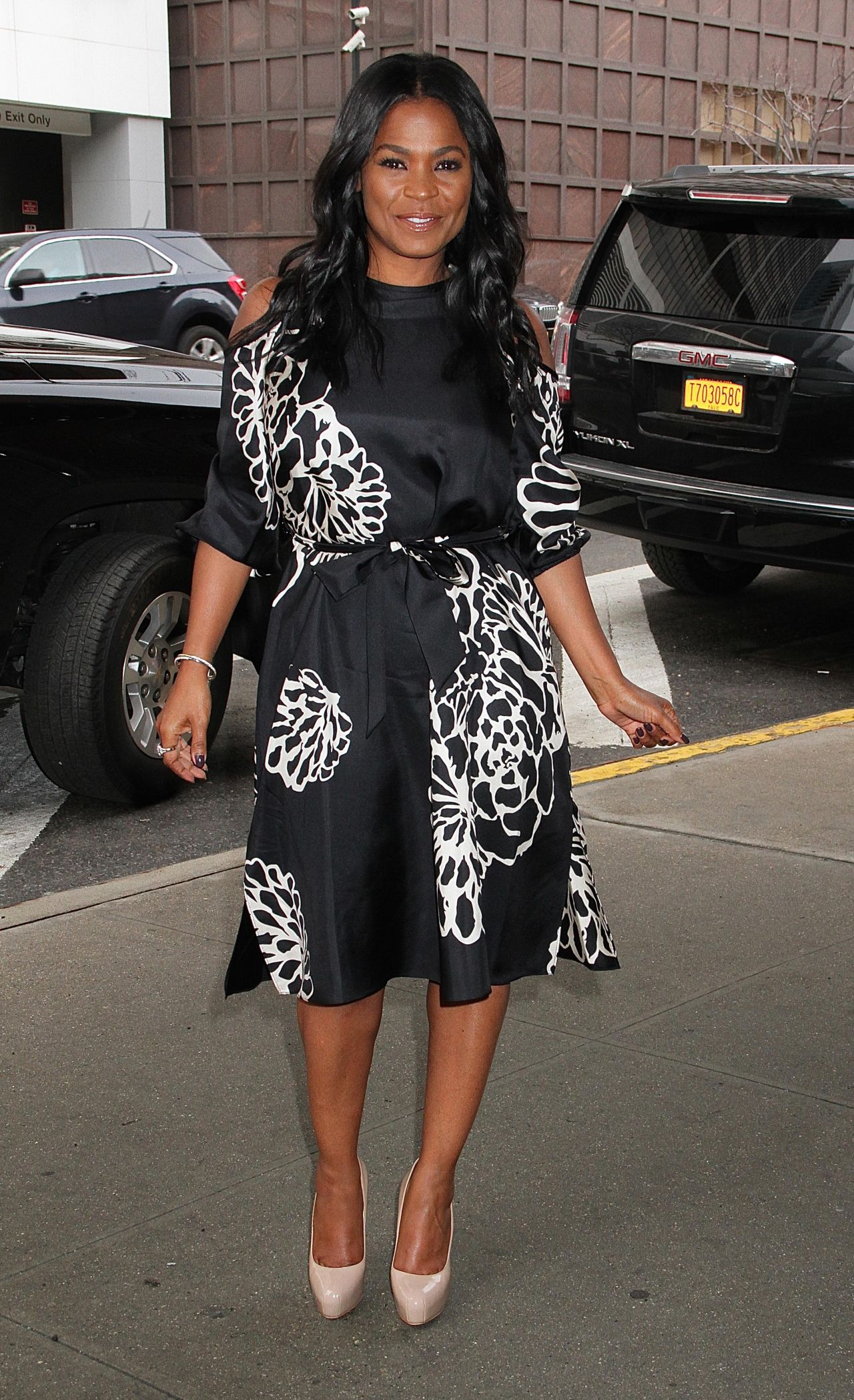Marvelous Nia Long At The Harry Talk Show In New York 1 12 2017 Short Hairstyles Gunalazisus
