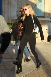 Nicola Peltz and Sofia Richie - Shopping at Maxfield in West Hollywood 1/6/ 2017