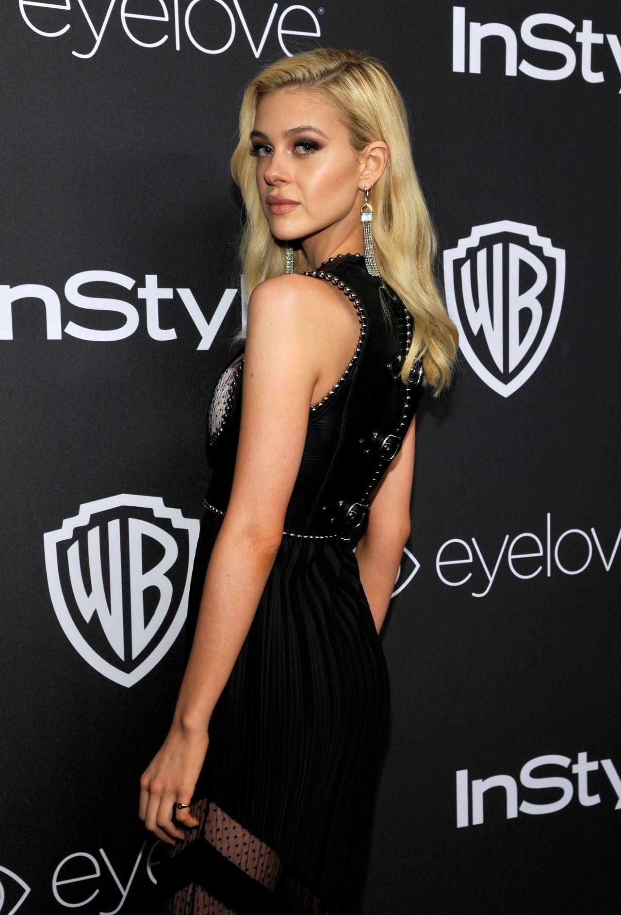 Nicola Peltz – InStyle and Warner Bros Golden Globes After ...