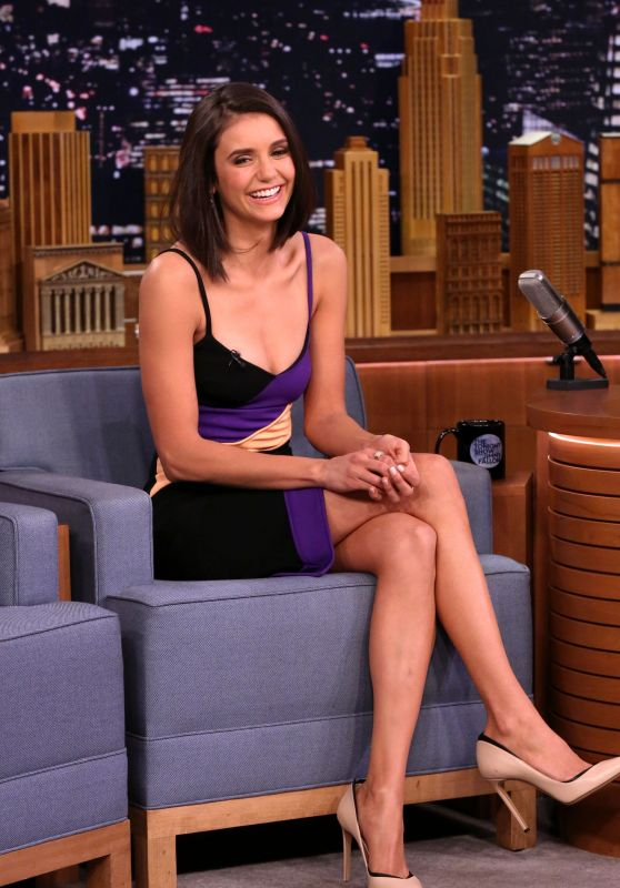 Nina Dobrev - Appears on 'The Tonight Show Starring Jimmy Fallon' 1/17/ 2017