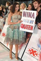 Nina Dobrev - xXx: Return of Xander Cage European Premiere in London 1/10/ 2017