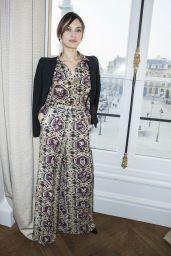 Olga Kurylenko – Schiaparelli Haute Couture Spring/Summer Show – Paris Fashion Week 1/23/ 2017