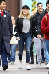 Olivia Holt - Rainy Day at The Happiest Place on Earth in LA 1/4/ 2017