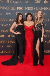 Olivia Jordan & Pia Wurtzbach – Miss Universe Red Carpet Presentation in Pasay City – Philippines 1/29/ 2017