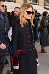 Olivia Palermo - Arrives at Schiapparelli Fashion Show in Paris 1/23/ 2017