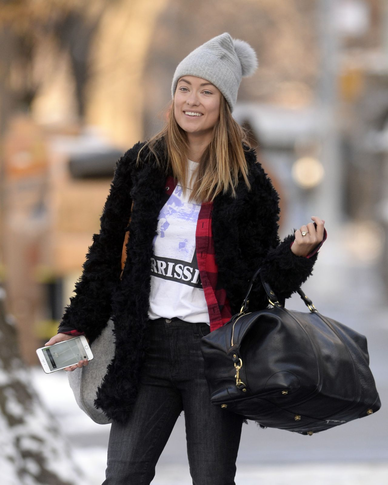 Olivia wilde leaving her hotel in nyc - 2019 year