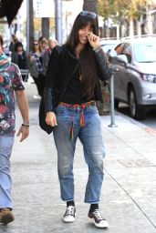 Oona Chaplin - Shopping in Beverly Hills 1/13/ 2017