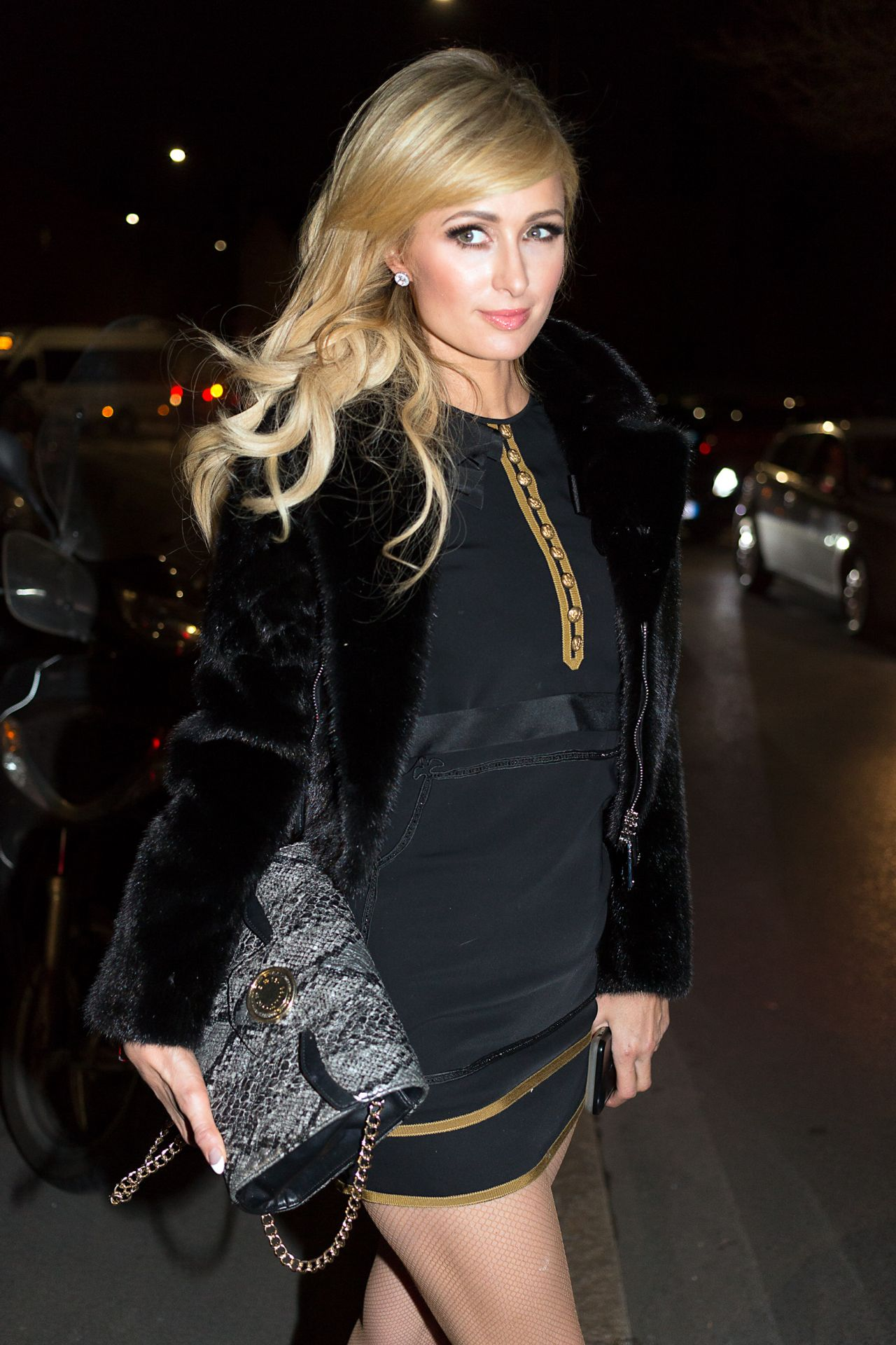 Paris Hilton at the Dsquared2 Show