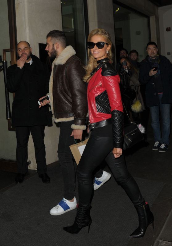 Paris Hilton - Leaves The Mayfair Hotel in London 1/24 /2017